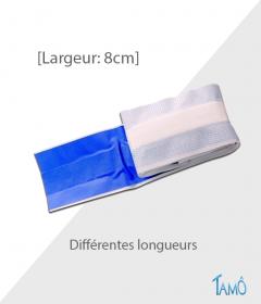 PANSEMENT DETECTABLE EN ROULEAU A DECOUPER -  Plastique Microperforé - 8cmx1m