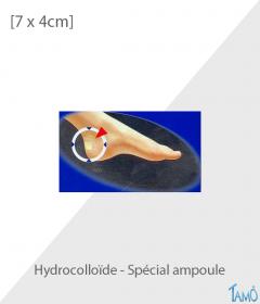 10 PANSEMENTS HYDROCOLLOïDES - Spécial ampoule