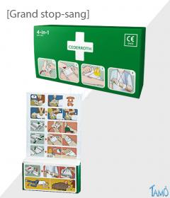 STOP SANG - Grand modèle - Pour Panneau et Station Cederroth