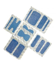 SACHET 20 PANSEMENTS DETECTABLES ASSORTIS - Plastique Microperforé