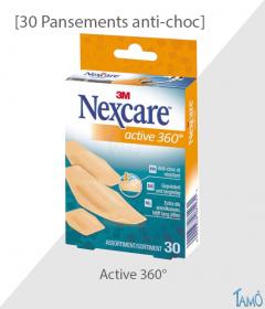 30 PANSEMENTS ASSORTIS - Anti-choc