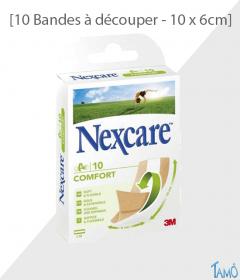 10 BANDES COMFORT - A découper