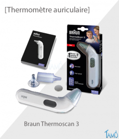 THERMOMETRE AURICULAIRE - Braun Thermoscan 3