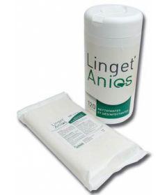 Boîte de 120 lingettes Anios 14x19cm
