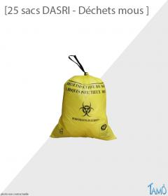 25 SACS DASRI - 15 litres (déchets mous)