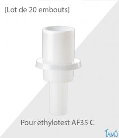 25 EMBOUTS - ETHYLOTEST AF35 C