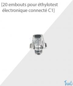 20 EMBOUTS - ÉTHYLOTEST CONNECTÉ C1