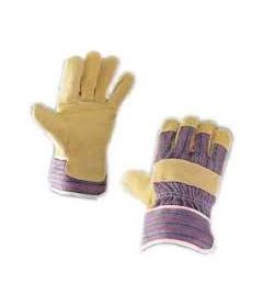 Paire de gants Docker Manutention Croute de Bovin