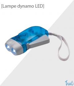 LAMPE DYNAMO LED