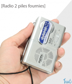 RADIO A PILES