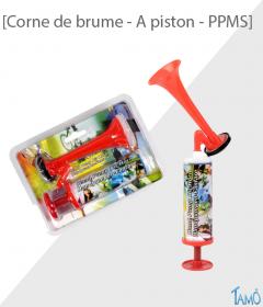 CORNE DE BRUME A PISTON