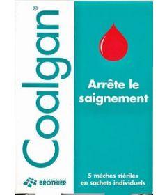 COALGAN 5 tampons stériles