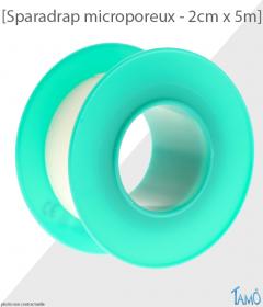 SPARADRAP MICROPOREUX HYPOALLERGENIQUE - Sans fourreau - 2cm x 5m