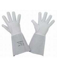 Paire de gants soudure Manchette de 15 cm.