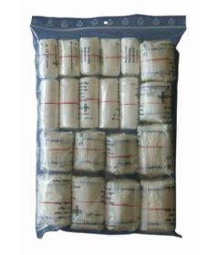 Sachet de 50 Bandes de gaze et crêpe assorties