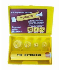 Pompe à venin Extractor