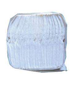 Essuie-mains - Papier crêpe blanc Cartouche de 100 feuilles