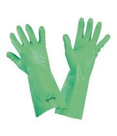 Paire de gants Nitrile flocké sur coton