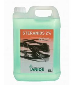 Désinfectant prêt à l'emploi 5 litres STERANIOS 2%