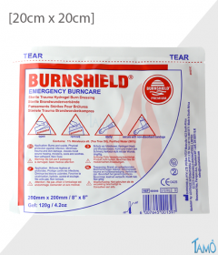 COMPRESSE BURNSHIELD - 20cm x 20cm