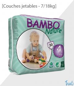 COUCHES JETABLES ECOLOGIQUES - 7/18kg