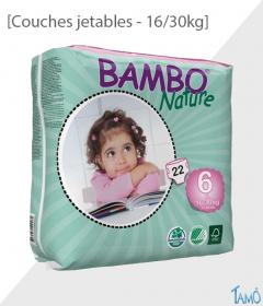 COUCHES JETABLES ECOLOGIQUES - 16/30kg