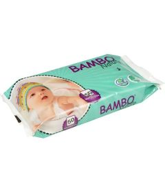 50 Lingettes nettoyantes pour bébé