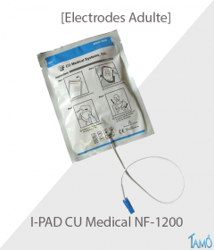 ELECTRODES ADULTE COLSON IPAD NF-1200