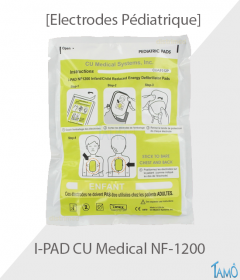 ELECTRODES PEDIATRIQUE COLSON - IPAD NF 1200