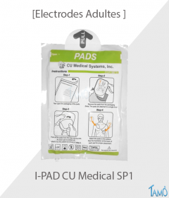 Electrodes Adultes I-PAD CU Medical SP1