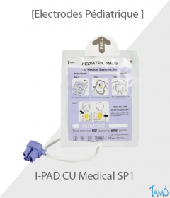 ELECTRODES PEDIATRIQUE COLSON - IPAD SP-1