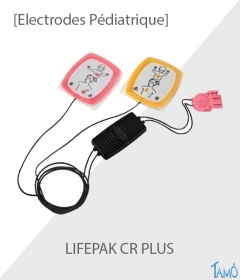 ELECTRODES PEDIATRIQUE LIFEPAK CR PLUS - Physio Control