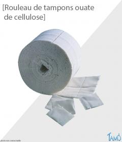 ROULEAU DE 500 TAMPONS - Ouate de cellulose