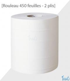 ESSUIE-TOUT 2 PLIS -  Rouleau 450 feuilles