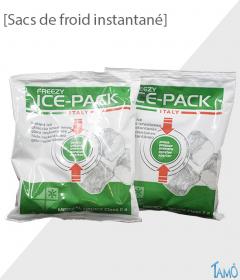 2 SACS DE FROID INSTANTANE - Pour sac isotherme