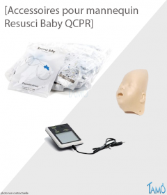 ACCESSOIRES MANNEQUIN RESUSCI BABY QCPR