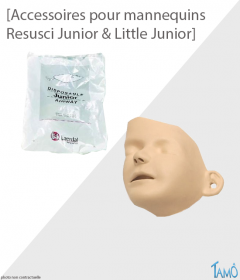 ACCESSOIRES MANNEQUINS -     Resusci Junior & Little Junior