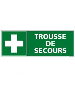 Etiquette de signalisation Trousse de Secours