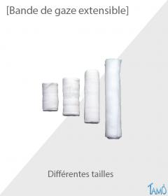 BANDE DE GAZE EXTENSIBLE - Différentes tailles