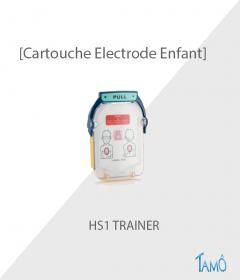 CARTOUCHE ELECTRODES PEDIATRIQUE DE FORMATION - HS1 TRAINER