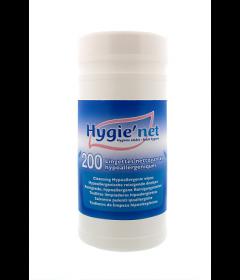 Boîte de 200 lingettes nettoyantes corporelles Hygie'net