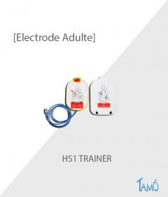 ELECTRODES ADULTE DE FORMATION - HS1 Trainer
