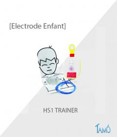 ELECTRODES PEDIATRIQUE DE FORMATION - HS TRAINER
