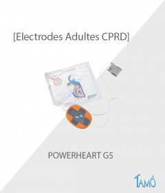 ELECTRODES ADULTE CPRD - Powerheart G5
