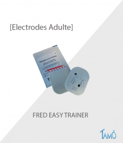 ELECTRODE ADULTE DE FORMATION -  Défibrillateur FRED EASY TRAINER