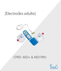 ELECTRODES ADULTE CPRD -  Défibrillateur ZOLL AED+ et AED PRO