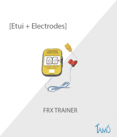 ETUI + 2 ELECTRODES DE FORMATION - FRX TRAINER