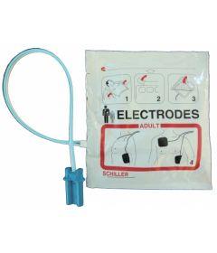 Paire d'électrodes Adulte pour défibrillateur Fred Easy Life