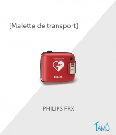 HOUSSE DE TRANSPORT DEFIBRILLATEUR PHILIPS FRX -  Semi-rigide