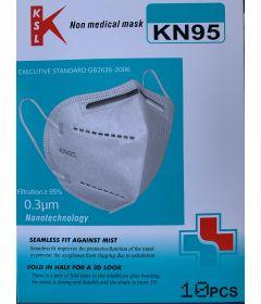 Masques KN 95/ FFP2  par 10
